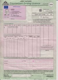 Car Hire Provisional Licence